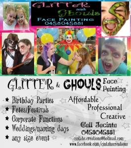Glitter & Ghouls - Face Painting & Body Art