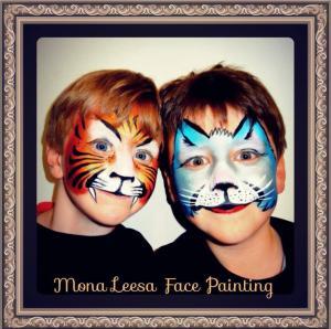 Mona Leesa Face Painting