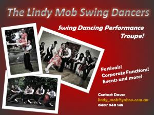 Lindy Mob Swing Dance Performance Group