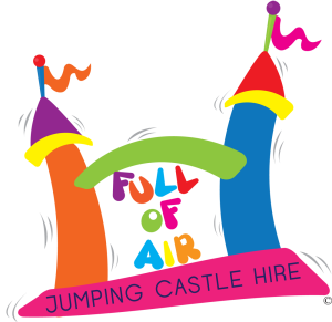 Full of Air Jumping Castles